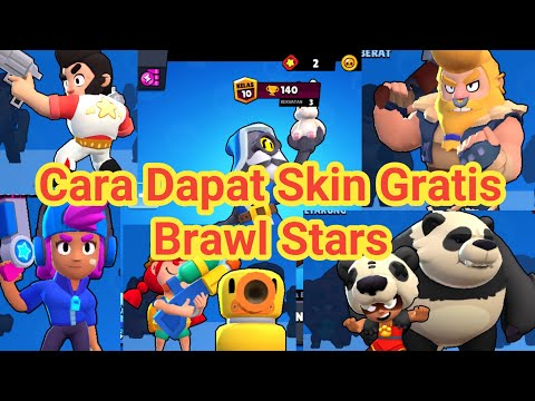 Cara Dapat Skin Gratis Brawl Stars | MOBA Supercell Indonesia Tips and Trick