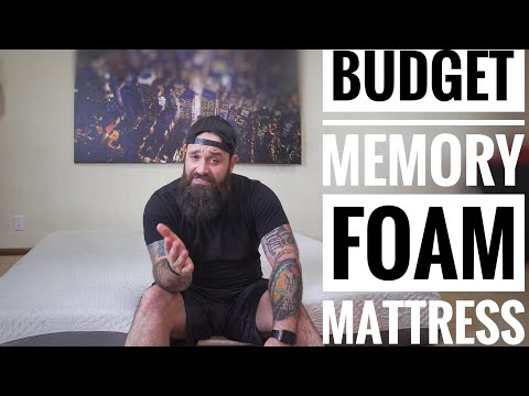 Cheap/Budget Memory Foam mattress | Olee Sleep review