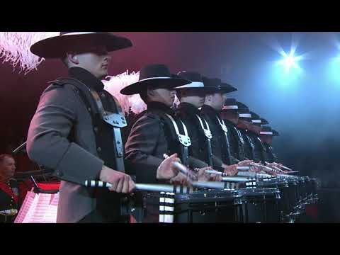 Royal Marines Corps of Drums & Top Secret Drum Corps