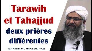 Tarawih et Tahajjud, deux prières différentes – Shaykh Mumtaz ul Haq