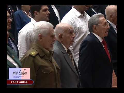 Himno Nacional de Cuba en la IX Legislatura de la ANPP