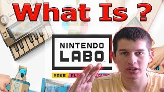 Nintendo Labo - Nintendo did something totally new + channel update