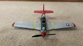 EACHINE MINI P-51 MUSTANG FPV AND RANGE TEST