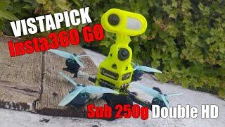 VISTAPICK GO - Insta360 Go - HaloRC Odin - FPV Drone Racing - DJI HD Nebula Pro