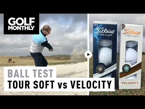 Titleist Tour Soft vs Titleist Velocity | Ball Test | Golf Monthly