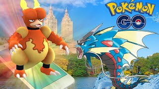 Pokémon GO - Catching All Pokemon In Central Park NYC | Pokemon Go In Real Life