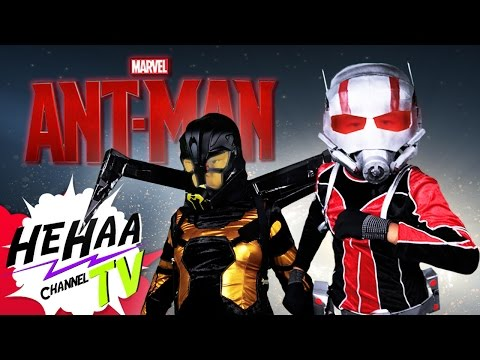 The Ant-Man Trailer Remade With Kids And Goofy Special Effects