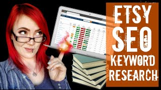 Etsy SEO for Newbies - How to Find Keywords for your Listings