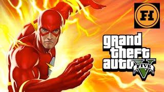 THE FLASH in GTA 5! – Mod Gameplay!