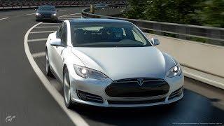 Gran Turismo Sport   Tesla Model S @ Tokyo Expressway