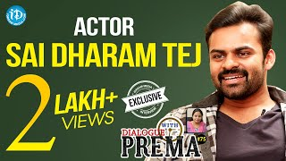 Sai Dharam Tej Exclusive Interview