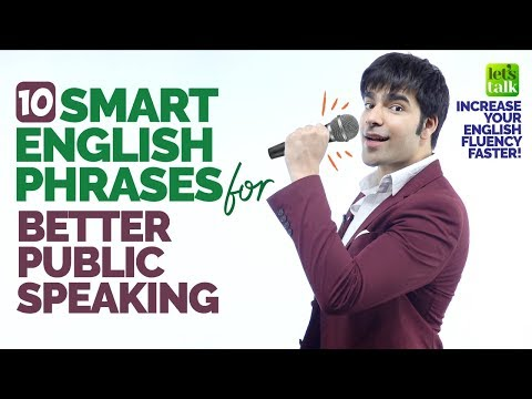 Smart English Phrases For Effective Public Speaking | Increase Your English Fluency With Hridhaan