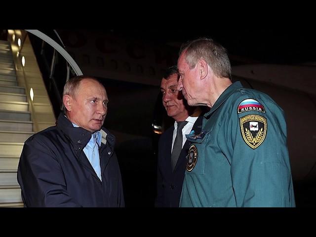 Владимир Путин прибыл в Иркутскую область.