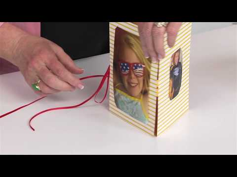 3-D Tri-Fold Picture Stand | Ellison Education Lesson Plan #12153