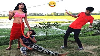 Must Watch Funny video 2020_ Comedy video 2020_ try to not lough By Lungi Fun 2