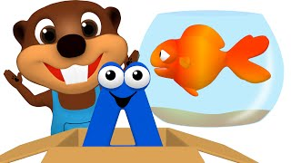 """""""In On Under Song"""" Kids Collection   Children's Education Videos Teach ESL English, Toy Surprise"""