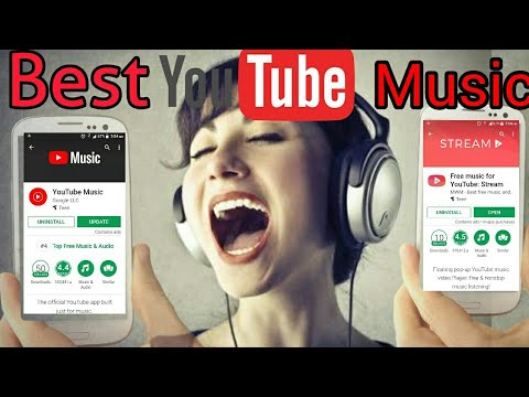 YouTube Music App Vs Free Music For YouTube Stream App Review And Tutorial