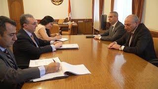 Foreign Minister's meeting with President of Artsakh Bako Sahakyan