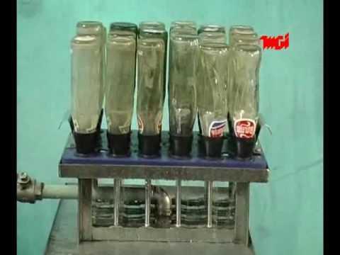 Glass Bottle Rinser