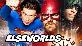 The Flash 5x09 - Elseworlds Episode Part 1 Easter Eggs and References