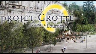 preview picture of video 'Projet Grotte cœur de Lourdes : les travaux programmés juqu'en 2016'