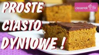 Ciasto Dyniowe przepis od Deserek.TV