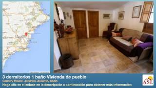 preview picture of video '3 dormitorios 1 baño Vivienda de pueblo se Vende en Country House, Jacarilla, Alicante, Spain'