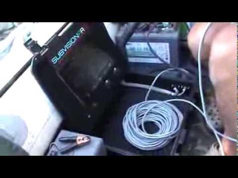 Videocamera subacquea.Presentazione prototipo SUBVISIONPRO