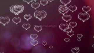 romantic background effect | heart background video | love motion background | Royalty Free Footages