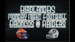 Monday Night Football Live Play By Play - Broncos @ Raiders