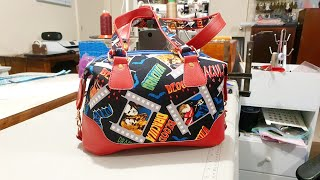 Brooklyn Handbag By Swoon Patterns. The Tutorial