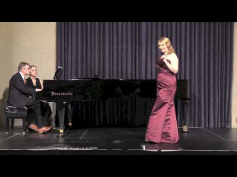 The Serpent by Lee Hoiby (Senior Recital, Simpson College, Spring 2017)