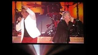 Johnny Reid messes up 'FIRE IT UP' with Alan Frew Live in Oshawa GM Centre