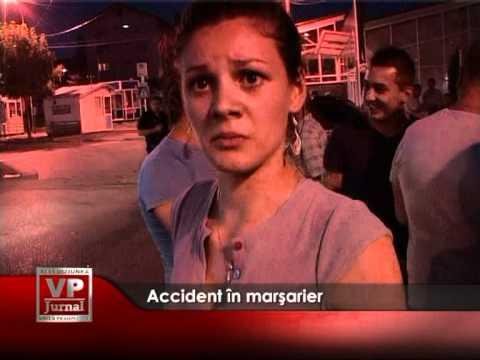 Accident în marșarier