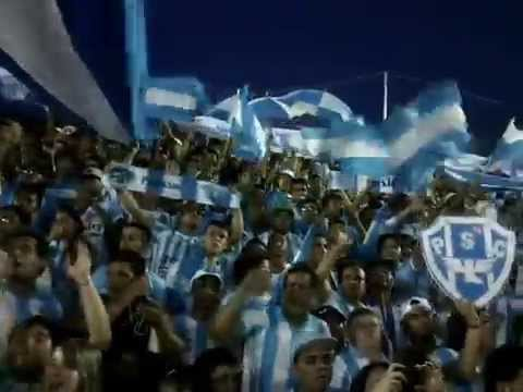 """Banda Alma Celeste - Sou papudinho sim senhor 20.09.2014"" Barra: Alma Celeste • Club: Paysandu"