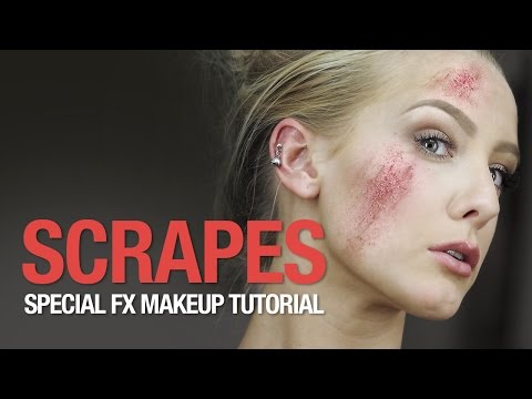Scrapes special fx makeup tutorial