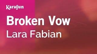 Karaoke Broken Vow   Lara Fabian *