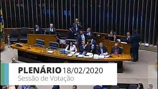 Plenário - Sessão para votação de propostas legislativas - 18/02/2020 18:56