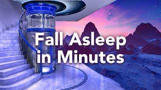 """In wenigen Minuten einschlafen, geführte Schlafmeditation """"Der Glasaufzug"""""""