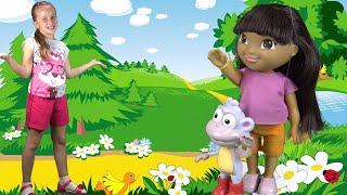 Даша и Башмачок даша путешественница мультфильм на русском dora the explorer мультфильмы для детей