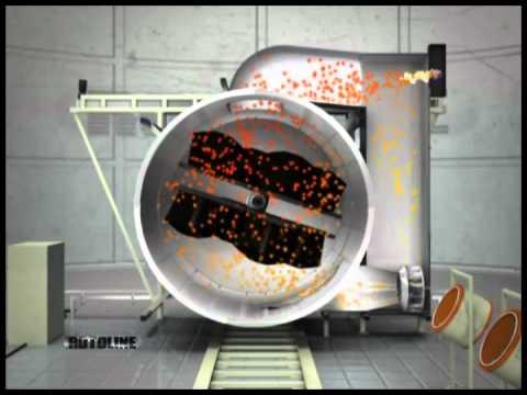 Flujo de Aire del Horno - Vea como funciona el flujo de aire de lá máquina.