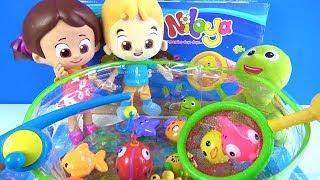 Niloya balık tutma oyun seti Kırmızı Balık Çocuk Şarkısı söyleyen Niloya Mete Tospik orbeez havuzu