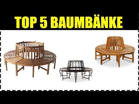 TOP 5 BAUMBÄNKE ★ Metall & Holz Baumbank kaufen ★ Rundbank & Baumbank ★ TOP Rundbänke für den Garten