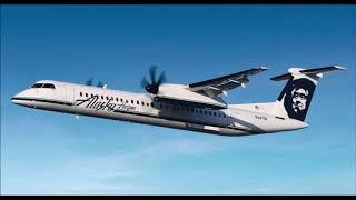 (ATC) Alaska (Horizon) Dash 8 Q400 Stolen by Employee