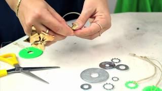 Holiday Tutorial #2 Hardware Ornaments - Mr. Kate's 12 DIYs of the Holidays
