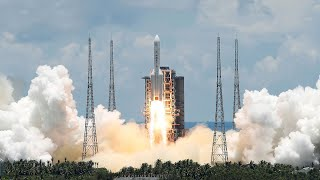 video: China launches its unmanned probe to Mars