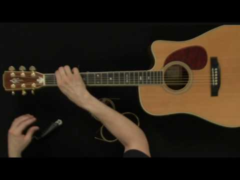 How To Change Acoustic Guitar Strings - Guitar Lessons