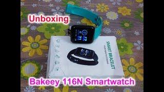 Unboxing Bakeey 116N Smartwatch