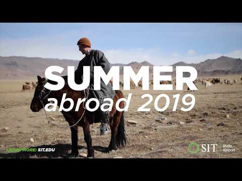 Spend this summer with SIT Study Abroad