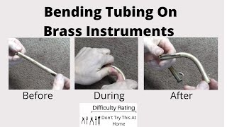 Bending Tubing On Brass Instruments